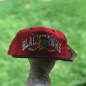 Vintage Chicago Blackhawks SnapBack !